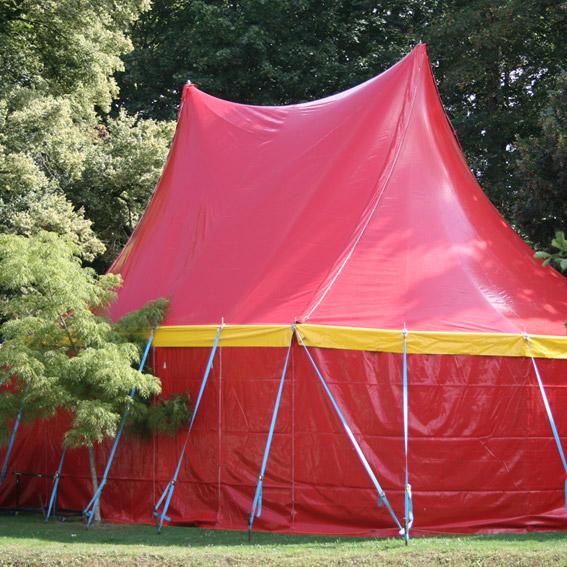 kindershow circus op school